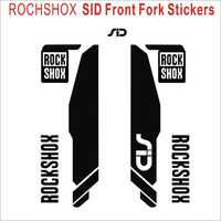 2PICS/SET ROCKSHOX sid Fork Decals Bicycle Front Fork Stickers MTB Fork Bike Stickers Bicycle Stickers Racing Cycling Decals