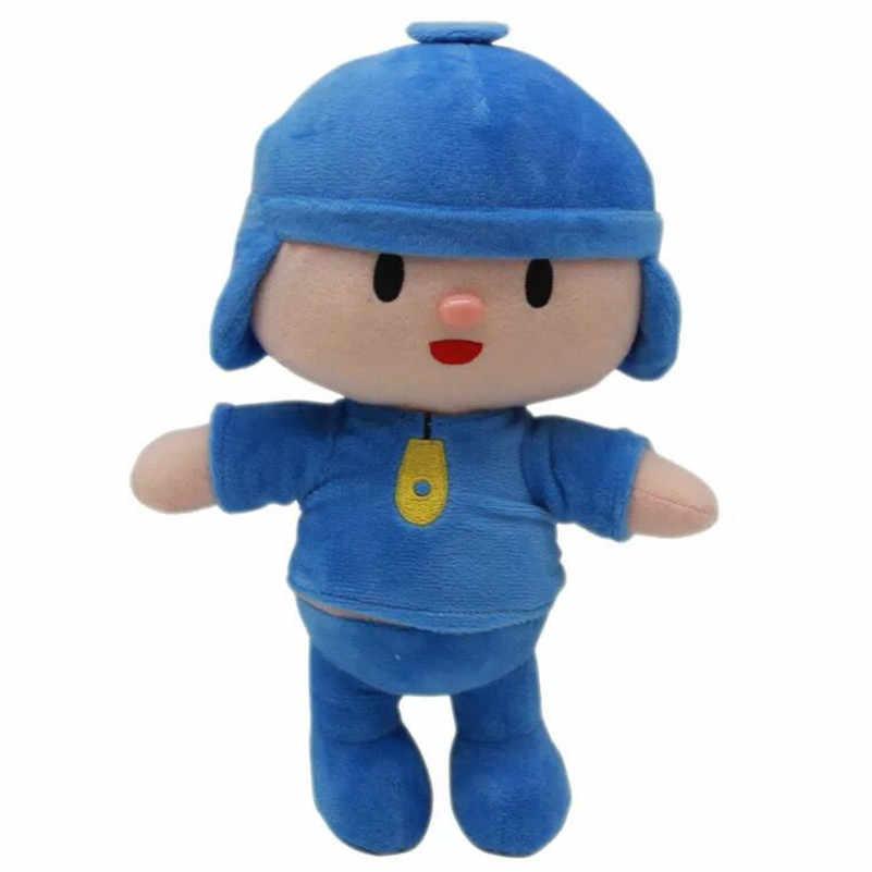 1 set/lote elle Pocoyo boneca elefante de pelúcia brinquedo pato brinquedos Mobiliário artigos do presente das Crianças das Crianças