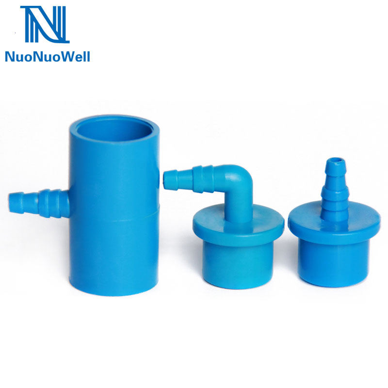 2 hose clips 32mm Joiner Straight Repair Connector Corrugated Pond pipe hose