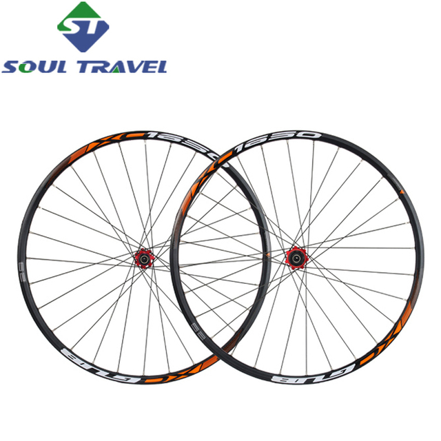 Cheap Gub 29 Inch Mountain Bike Wheel Set Group Mtb Alloy 5 Bearing Hub 28 Bicycle Light Magnets Schrader 10-11 Speed Parts Rushed