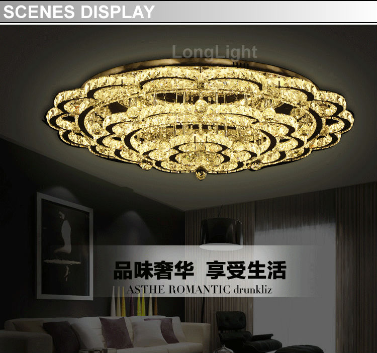 Modern chandelier led lamps living room fixture pendant lustre lustres home decoration 220v 110v 60w 500mm 400mm 300mm