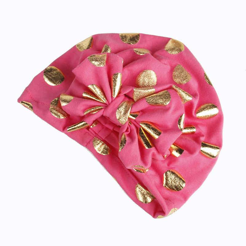 ... Bnaturalwell Children Girls baby hats Boho Hat Beanie Turban Head Wrap Cap  Newborn photography props knit ... 6d65ac13c7e4