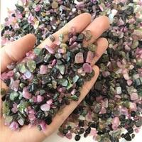Wholesale 1000g Natural Color Tourmaline Round Cut Natural Crystal Stone Gravel Shape Stone Quartz Crystals Natural Stones
