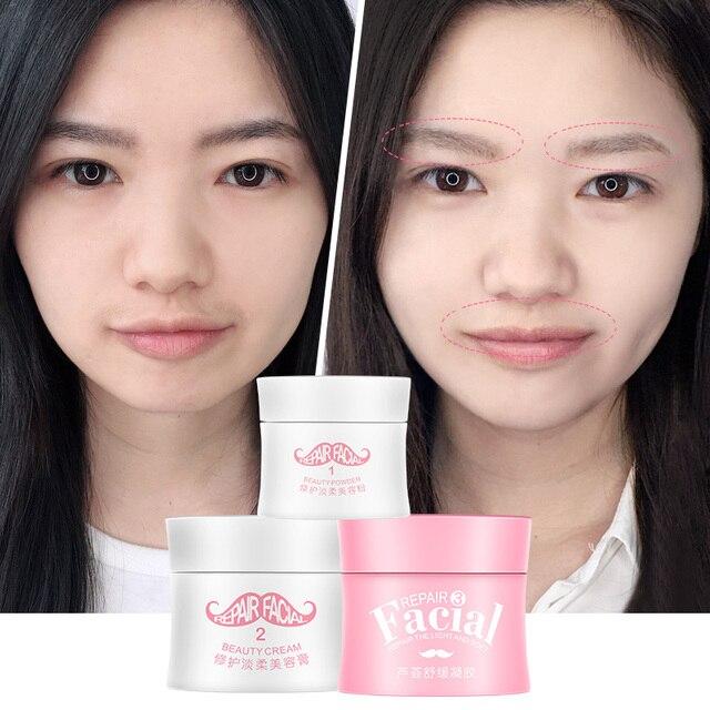 Upper Lip Hair Remove Cream Mustache Painless Faiza Creams Aloe Vera Depilation Strips Epilation Visage Sourcil Creme Depiladora