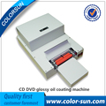 Automatic CD Disk UV Coating Machine Laminating Coater Extrusion Laminator with high quality on hot sales
