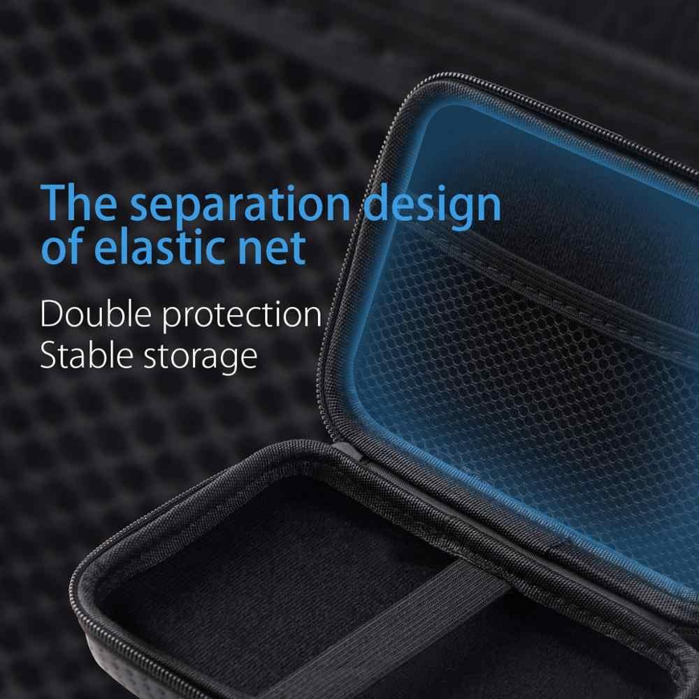 ORICO внешнее хранение Твердый чехол HDD SSD сумка для 2,5 жесткого диска power Bank USB кабель зарядное устройство power Bank чехол для наушников PHM черный