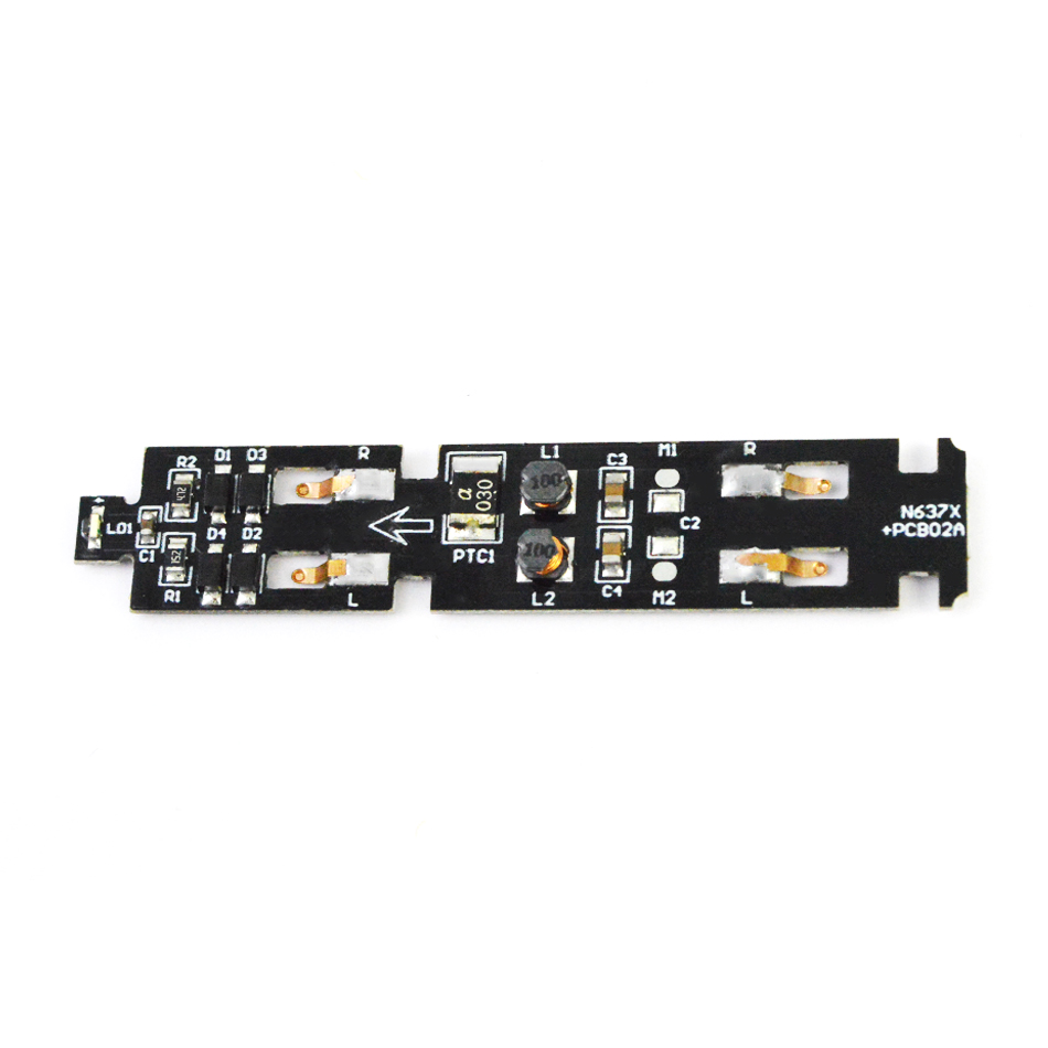 2pcs Model Train 1:160 N Scale electric train parts IC circuit board PCB board upgrade with sound and light
