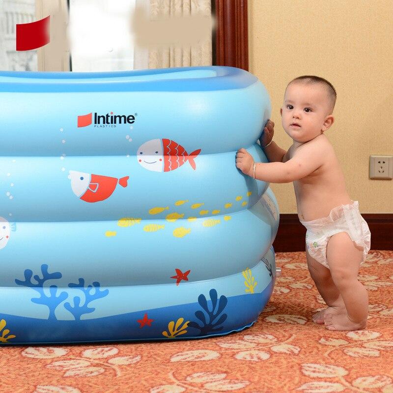 2016 Новинка открытый компанией havuz ПВХ zwembad надувные детская ванна детская Piscina Piscinas печатных Бассейны Размеры 120*105*75 см
