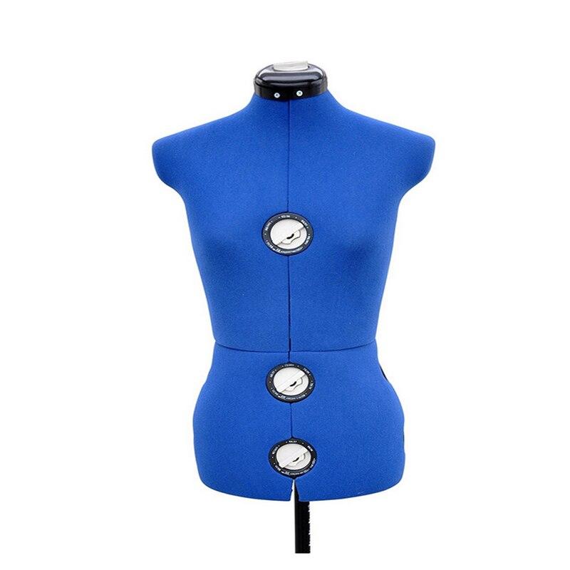 13 cadrans Réglable Forme De Robe Mannequin Mannequin Féminin Broches Ourlet Marqueur M Taille