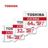 Original TOSHIBA Genuine Tf Memory Card 64GB 32GB U3 UHS 3 Max Read Speed 90M S