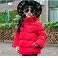 2016 Brand Girls Winter Long Sleeve Jacket Girls Winter Down Jacket Hooded Winter Coat Kid School Thick Keep Warm Christmas Coat