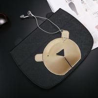 Air 2 case per ipad 6 ipad air 2 casse pu cuoio del fumetto del anime pad tablet pc protettiva case cover con auricolare tasca