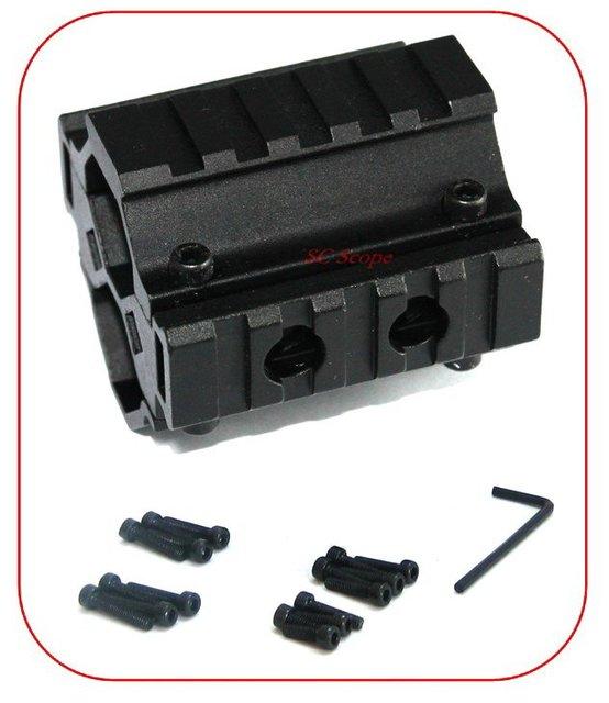 Pince de montage tactique Triple Rail Paintball/fusil de chasse