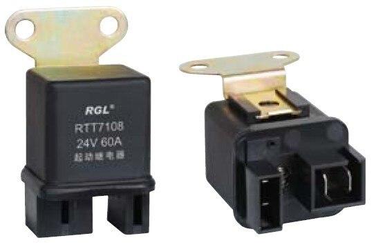 RGL 12V/24V RTT7108 60A waterproof miniature solenoid starter relay Isuzu Automotive Relays General Electric / DIY Accessories