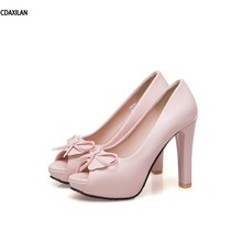 CDAXILAN new arrivals sandals women ladies super high heels open toe butterfly-knot shoes girls party shoes white pink beige miquinha 2017 new designer trend butterfly knot bow knot rome sandals gladiator shoes ladies open toe flats shoes women sandals