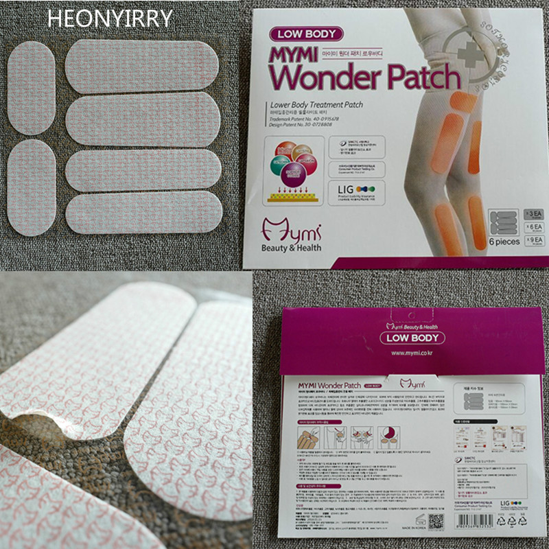 18pcs/pack Mymi Wonder Slim Patch For Legs Arm Slimming Weight Loss Patchs Burn Fat Feet Care Anti Cellulite Face Lift Tool 1