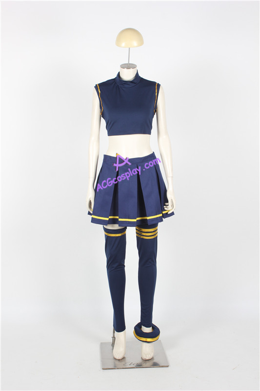 Sword Art Online Silica Cosplay Costume ACGcosplay anime costume game - Disfraces - foto 4