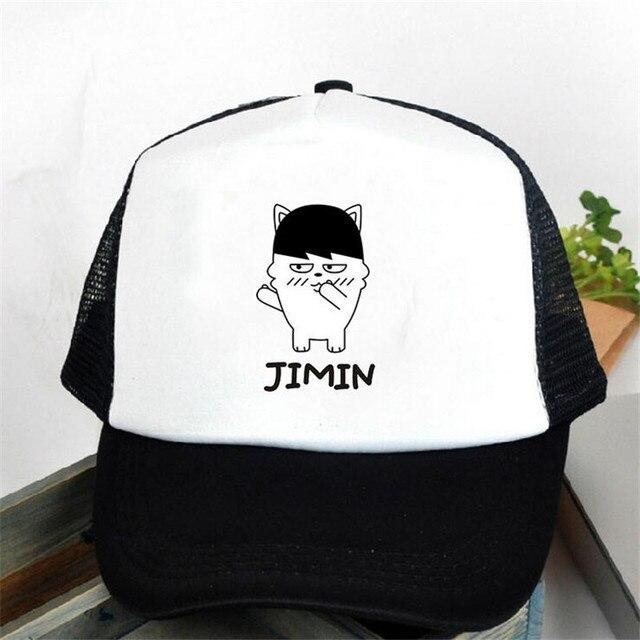 a15bb48049f07 JIMIN KPOP BTS bangtan niños mujeres snapback caps gorra de béisbol de la  muchacha net gorra