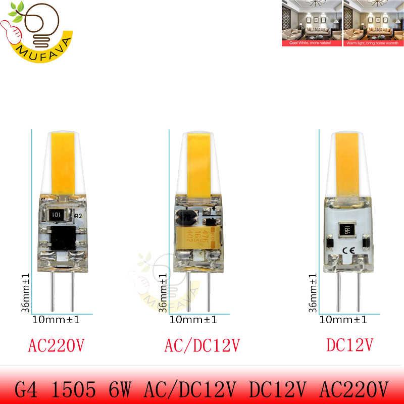 G4 G9 E14 светодиодный светильник светодиодный лампы AC/DC затемнения 12 V 220 V 6 Вт, 9 Вт COB SMD светодиодные осветительные приборы заменить галогенные Прожектор люстра