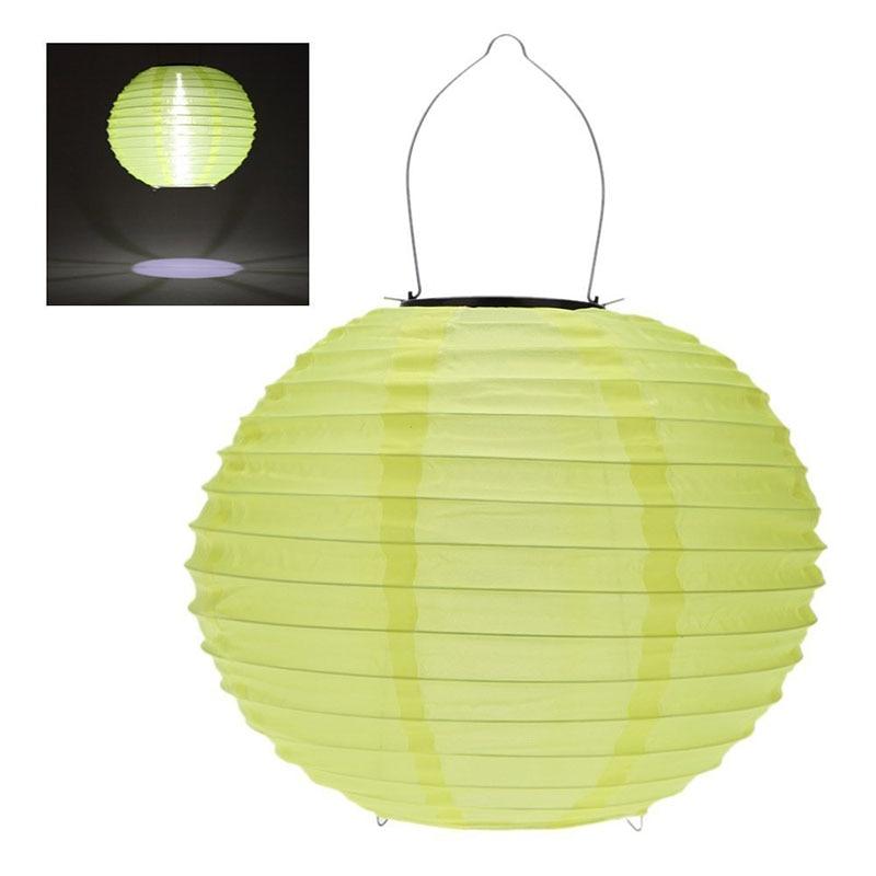 4pcs 30CM Waterproof Solar Lantern Solar Outdoor Hanging Lights LED Holiday Lights Hanging Lantern Chinese Celebration LB88