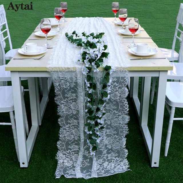 New Plastic Lace Table Runner