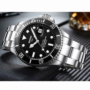 Image 3 - KINYUED แบรนด์ผู้ชายนาฬิกาอัตโนมัติบทบาทวันที่ Fashione luxury Submariner นาฬิกา Reloj Hombre Relogio Masculino