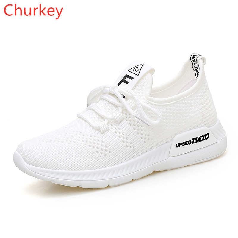 Women Sports Shoes Casual Non-Slip Breathable Outdoor Students Mesh