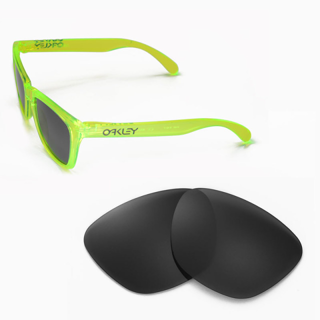 46cf58a7da Walleva Polarized Replacement Lenses for Oakley Frogskins Sunglasses 7  colors available