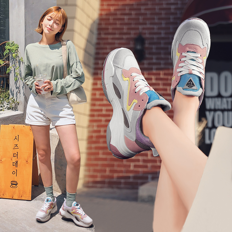 New Designer Sneakers Women Running Shoes mesh Outdoor Cushion Sport Shoes Woman Comfortable Walking Jogging Breathable
