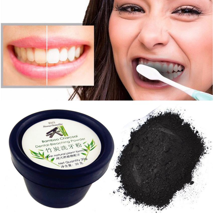 MENOW 2018 Natural Teeth Whitening Organic Activated Charcoal Powder Teeth Whitening Total 20g Whites Activated carbon  06.01