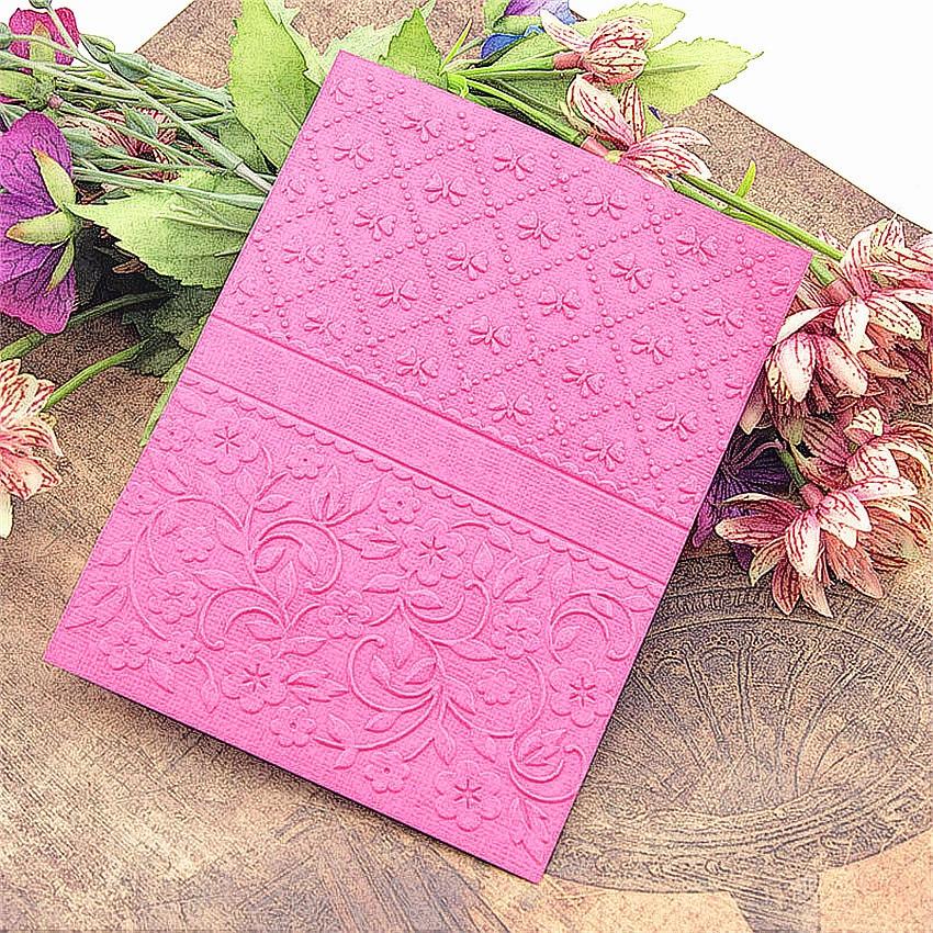 HOT Plastic Bell Template Necktie Craft Card Making Paper Card Album Wedding Decoration Embossing Folders