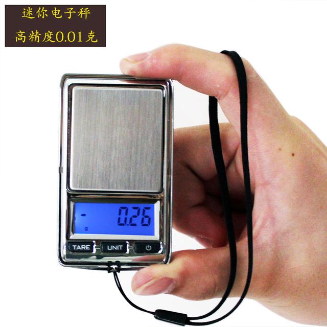 0.01g 200g Mini Electronic Diamond Gram Escala Del Bolsillo de 0.01g de Precisión LCD Escalas de la Joyería Digital Lab Gem Carat Equilibrio de peso