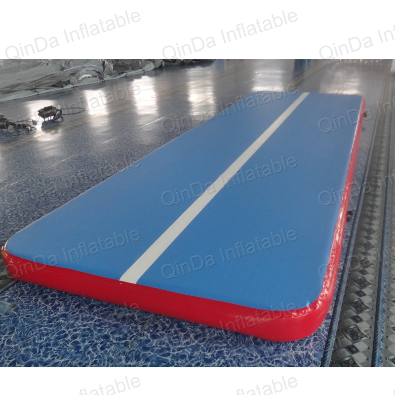 Guangzhou QinDa Tumble Track Inflatable Air Mat For Gymnastics / Inflatable Bumper Track For Sale
