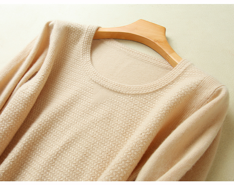 18 New Arrival Women Sweater 100% Pure Cashmere Oneck Knitting Pullovers High Quality Oneck Fashion Knitwear Winter Jumpers 13