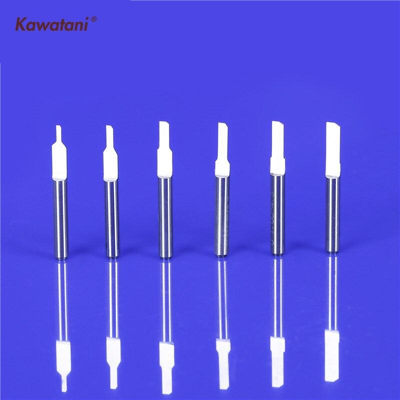 5Pcs HSS 2 Flute Solid End-mill Milling Cutter 1mm Cutting Bit Edge 1.5x 6mm