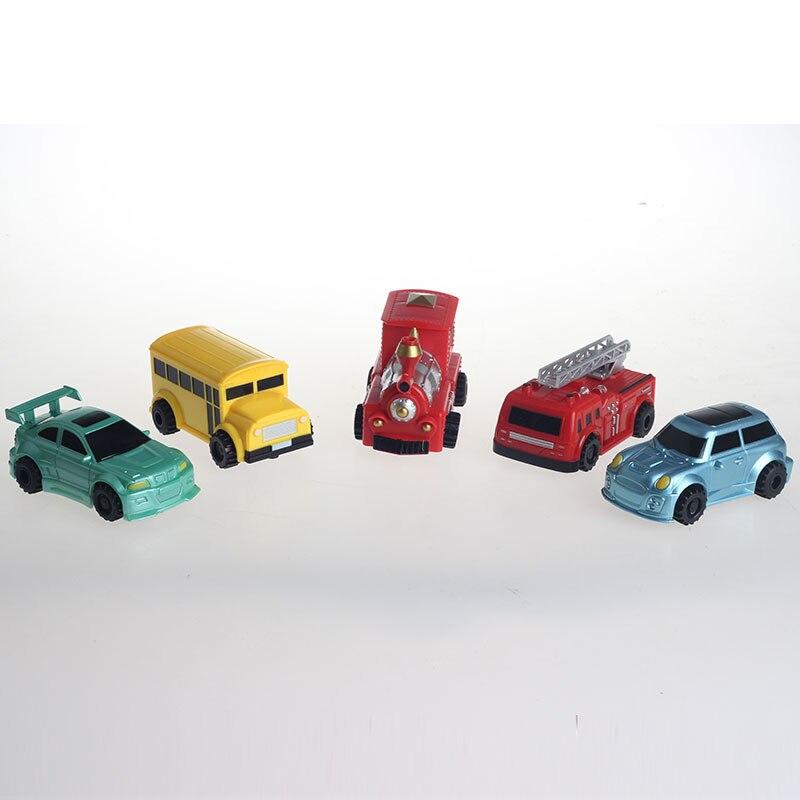 Pista mágica brinquedos mini modelo de carro tanque indutivo veículo carro seguindo pela linha que você desenhar o desenvolvimento da inteligência brinquedo do miúdo FSWB