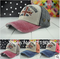 Frete grátis/2014-A116, bandeira letras boné de beisebol do chapéu, rebite lazer Ao Ar Livre chapéu sombreamento
