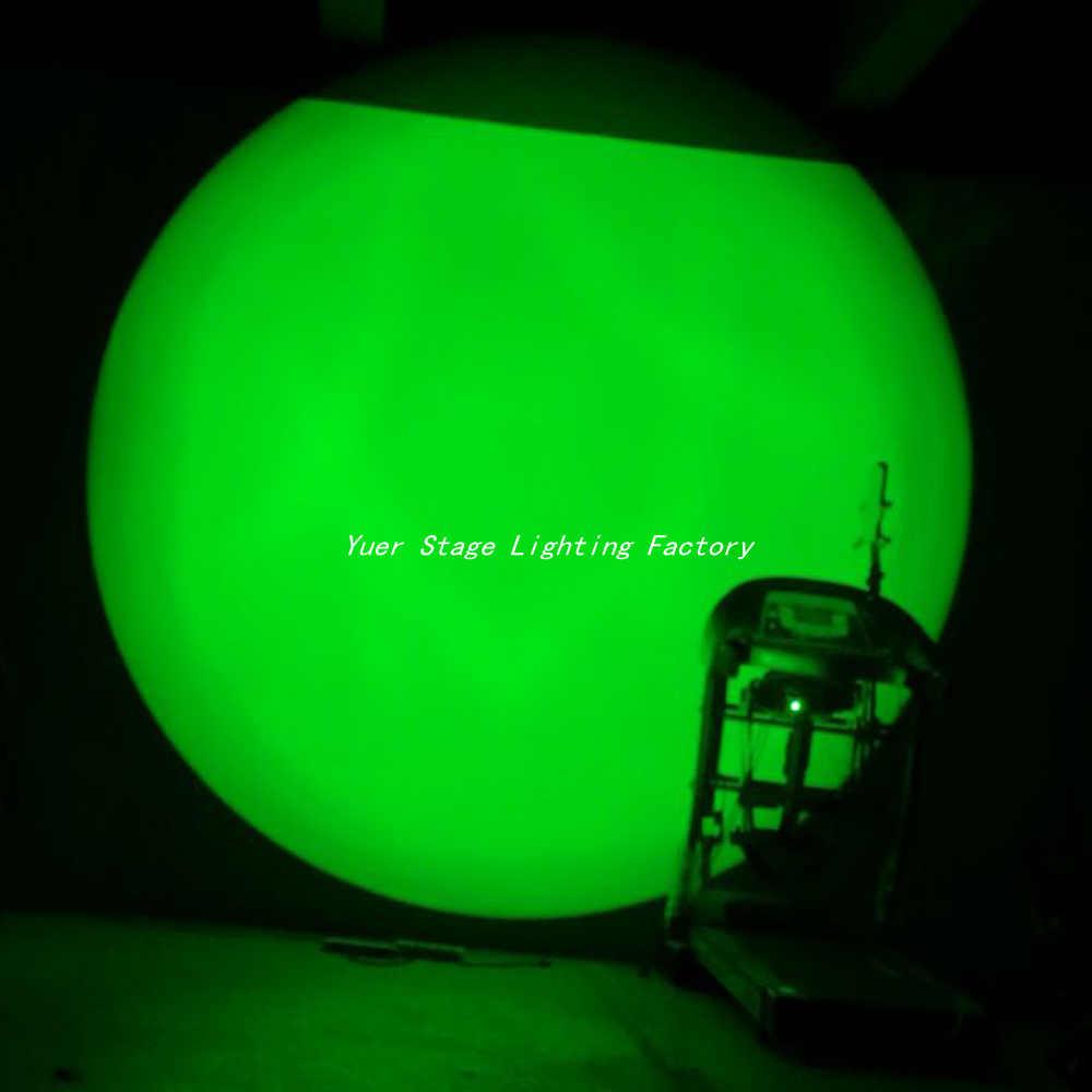 2 Pcs/lot COB RGBW 200W RGBW 4in1 LED Prefocus Profil DMX512 TV Studio Theater Lampu Panggung Zoom Follow Spot lampu LED PAR