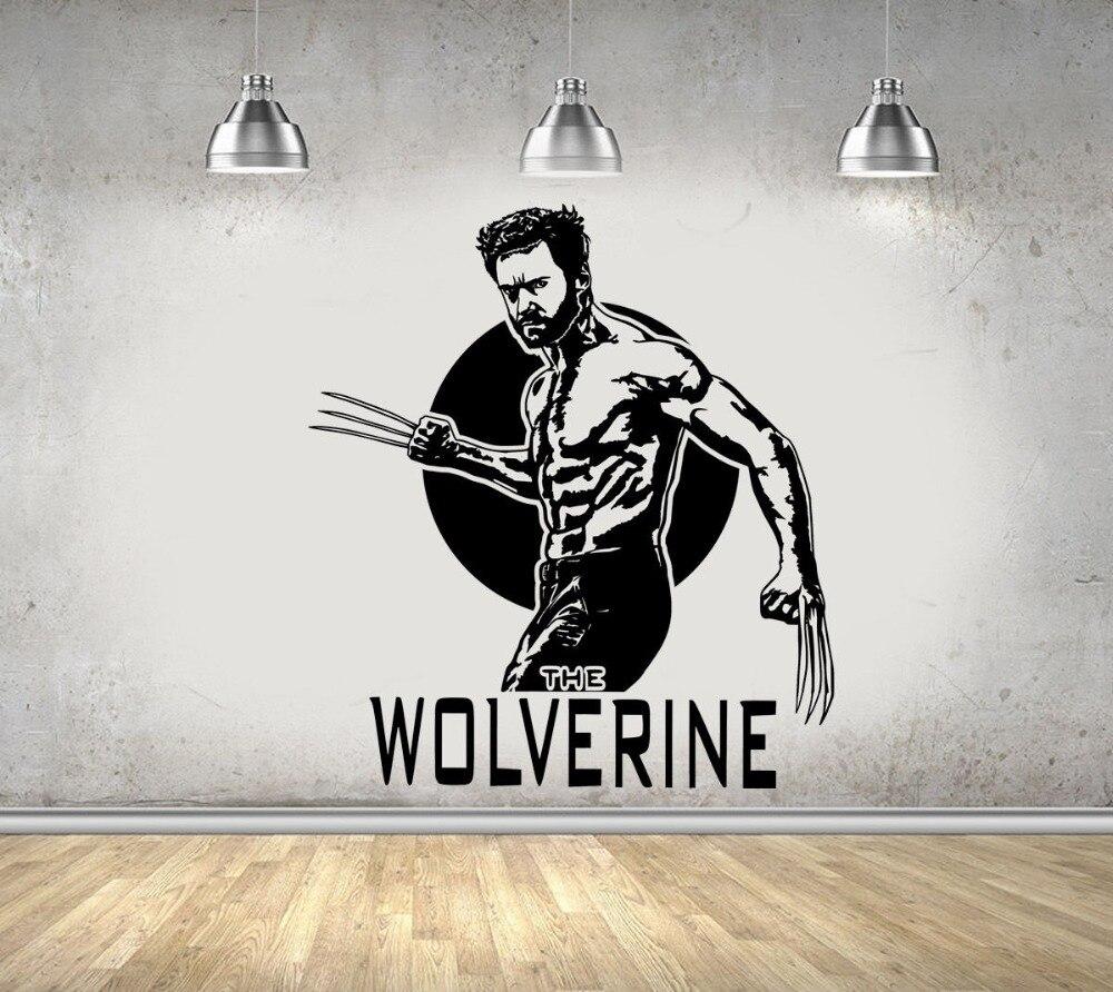 Wolverine Wall Decal Vinyl Sticker Marvel Comics Art X Men