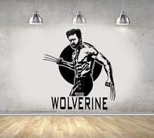 Wolverine Wall Decal Vinyl Sticker Marvel Comics Art X-Men Hugh Jackman Kids Boy Home Room Decoration Window Poster Decor WW-87 marvel legends custom 6 action figure old logan hugh jackman x men wolverine 1 12 head