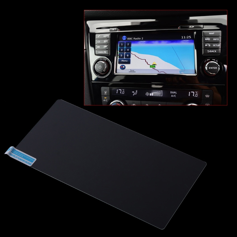 New Vehicle Car Navigation Tempered Glass Film Screen Protector Case For Nissan Qashqai J11 X-trail