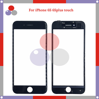 10pcs/lot High Quality for iPhone 6 6plus 6S 6SPlus Touch Panel Glass Front Glass Lens Screen