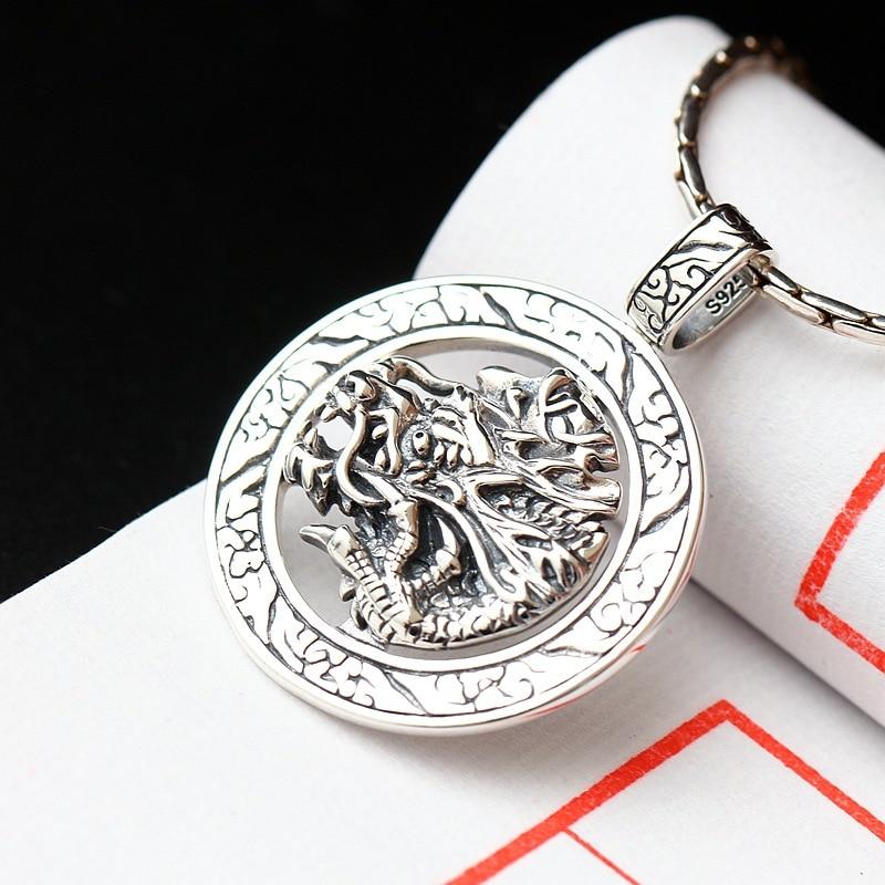 f2810fbe1670 Joyería de plata al por mayor colgante de plata hecho a mano ecoworld mens  retro 925 Plata de Ley colgante de plata grifo