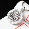 silver jewelry wholesale handmade silver pendant ecoworld Mens retro 925 Sterling Silver Pendant Pendant Silver faucet