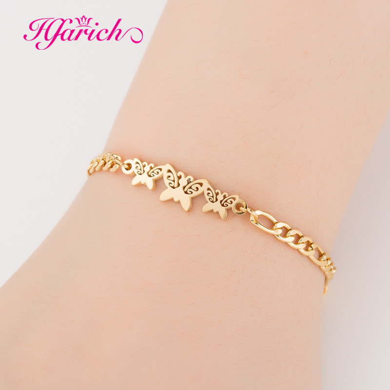 Hfarich Butterfly Charm Bracelets for Girls Kids Women ...