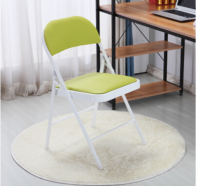 Meeting folding chair. Home computer leisure chairs. Simple office chair.