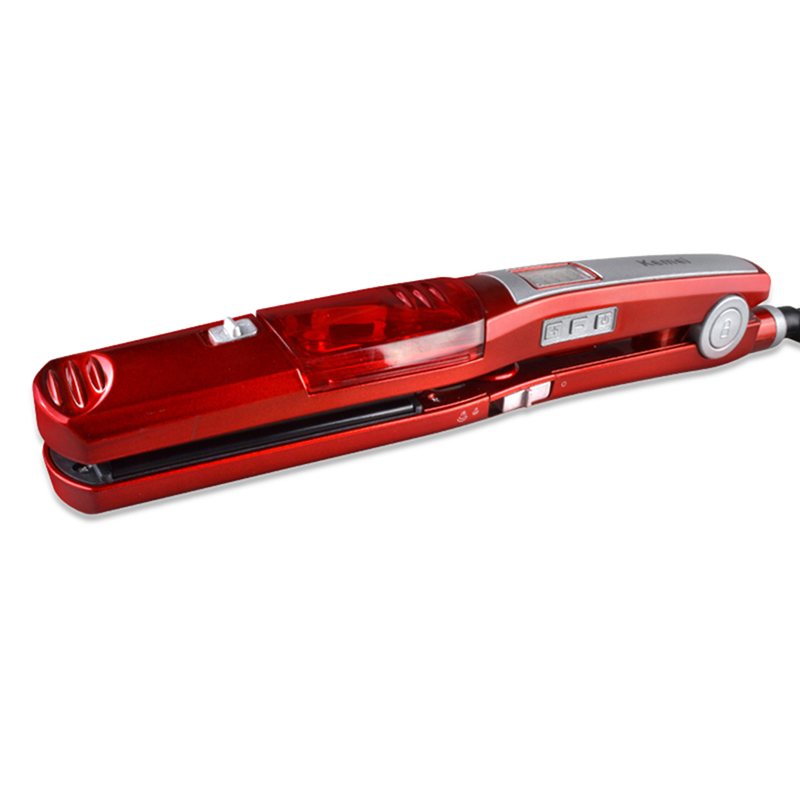Fast Heating Steam Hair Straighteners Professional Hair styling tool Ceramic Hair Straightener Flat Iron Styling Dry & wet 445f lcd digital hair flat iron ceramic mch fast heating hair straightener high end professional hair styling tools
