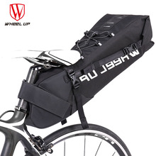 Wheel Up Rainproof 10L MTB Bike Bag Cycling Saddle Tail Rear Seat Waterproof Storage Bag Bicycle Accessories Can Put Taillight