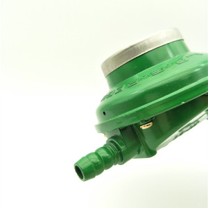 Image 3 - 1 Inlet 1 Outlet 1/2PT Thread Liquefied LGP Gas Gauge Pressure Regulator Green