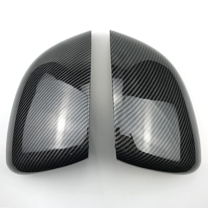 Car Rear View Mirror Plastic Sticker Trim Cover for Mercedes Benz A CLA Class W177 C118
